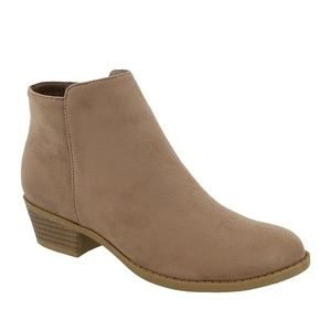 NEW Taupe Suede Chevy Bootie